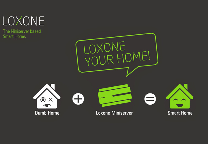 Loxone Mac Smarthome Black